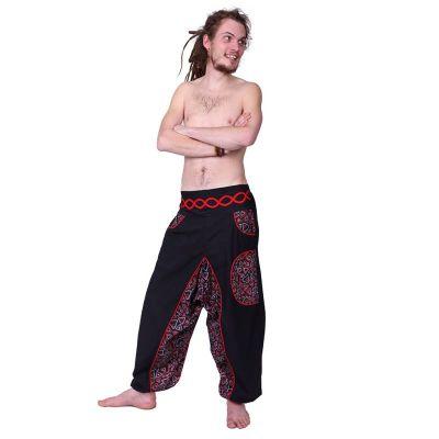 Kalhoty Makalu Merah