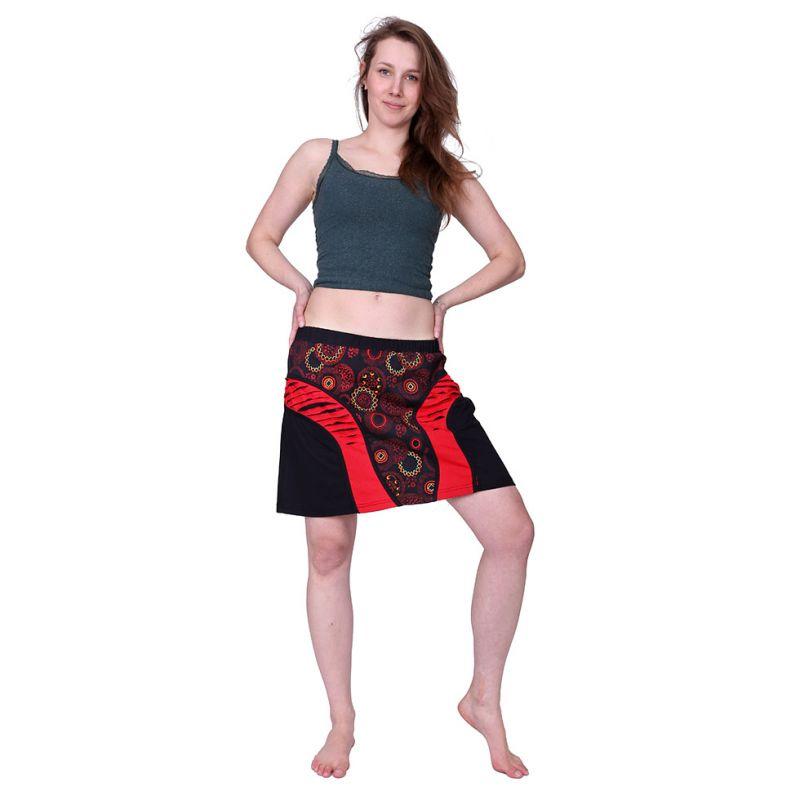 Mini sukně Mandala Merah Nepal