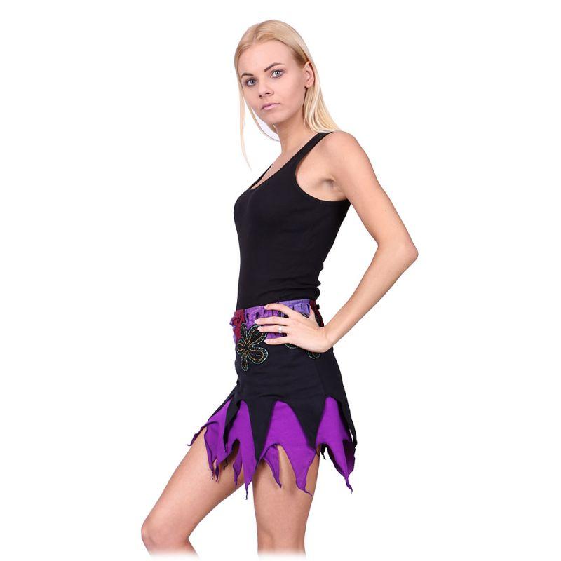 Cípatá zavinovací mini sukně Gila Witch Nepal