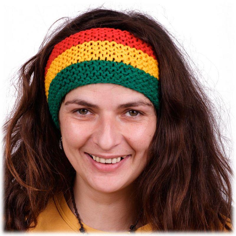 Čelenka Green-Yellow-Red