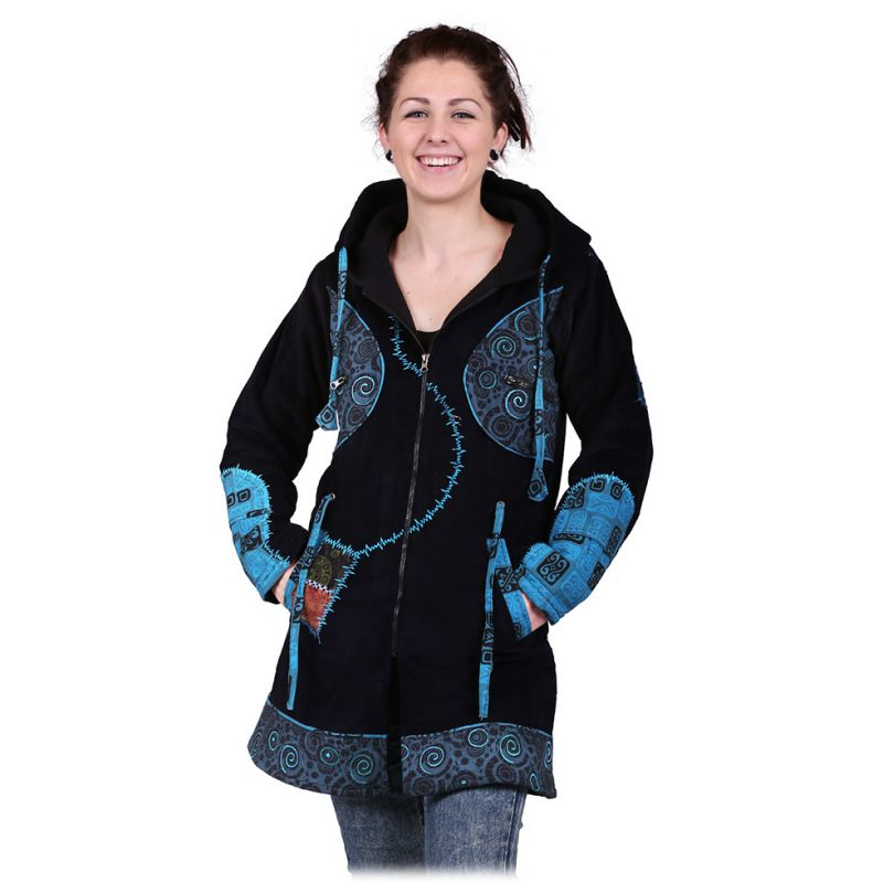 Kabátek Tambalan Pirus
