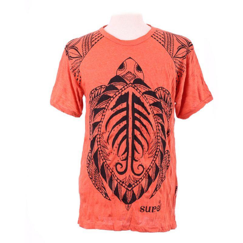 Pánské tričko Sure Turtle Orange