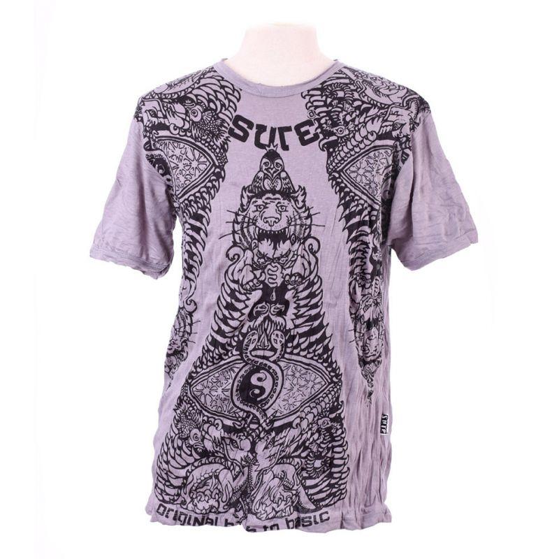 Pánské tričko Sure Animal Pyramid Grey