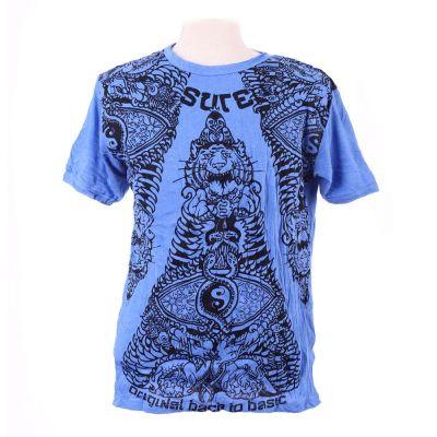 Pánské tričko Sure Animal Pyramid Blue