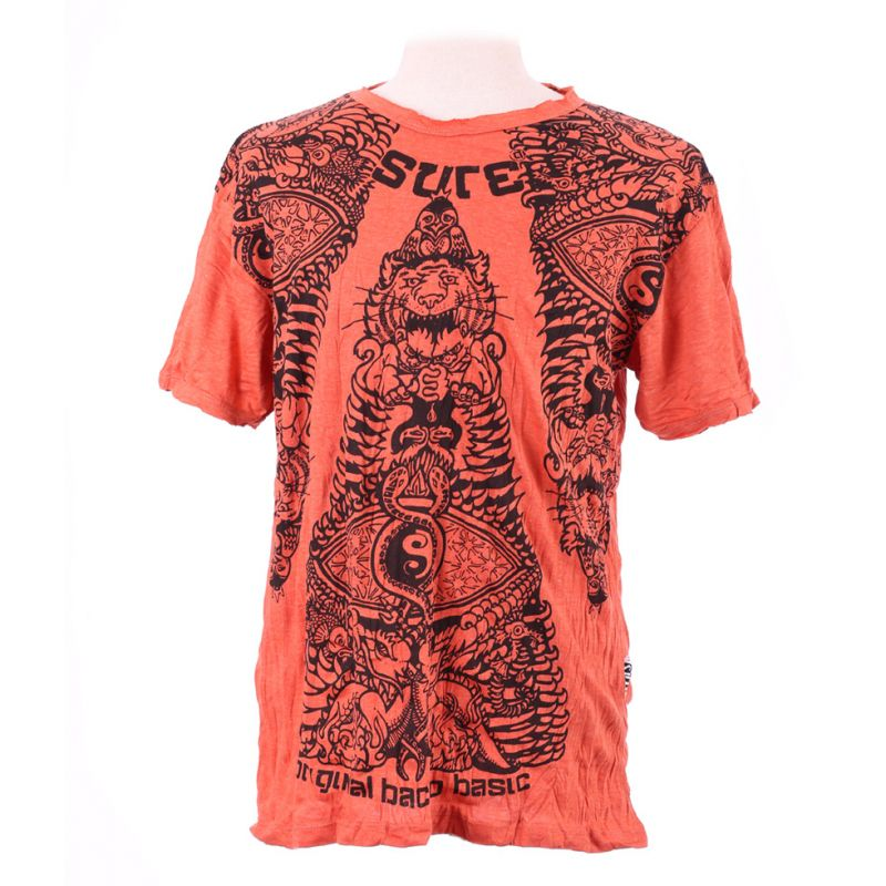Pánské tričko Sure Animal Pyramid Orange