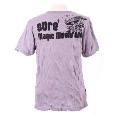 Pánské tričko Sure Magic Mushroom Grey