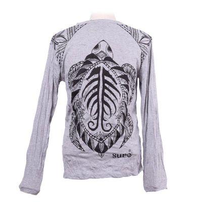 Pánské tričko Sure s dlouhým rukávem - Turtle Grey