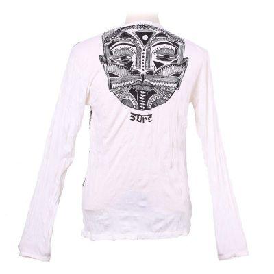 Pánské tričko Sure s dlouhým rukávem - Khon Mask White