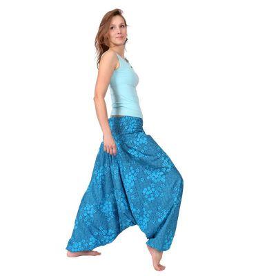 Harémové kalhoty Frozen Garden India