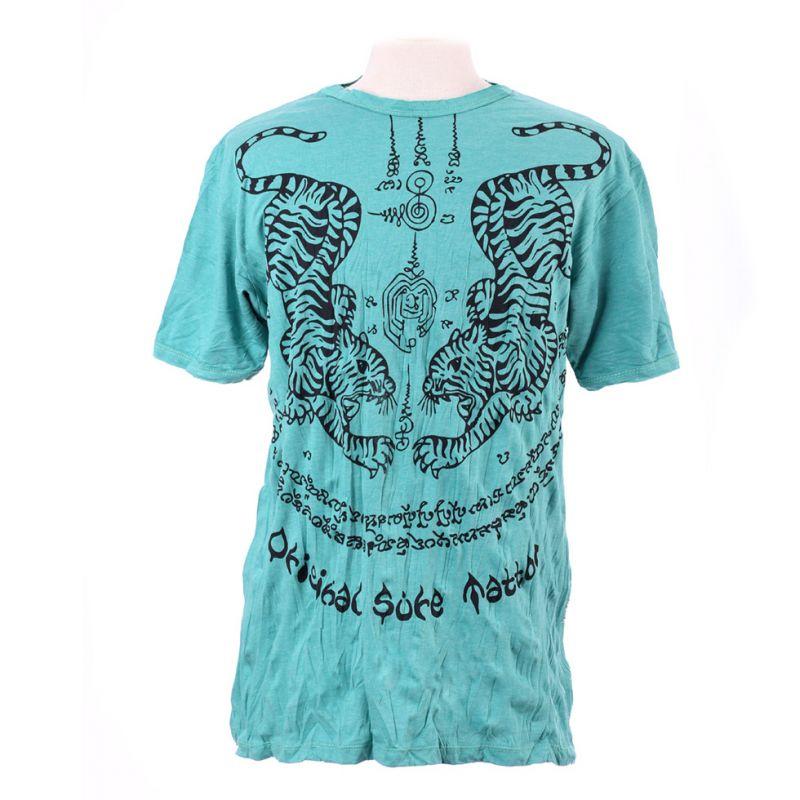 Pánské tričko Sure Tigers Turquoise