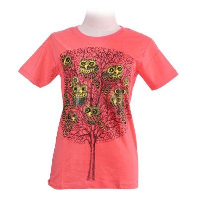 Tričko Eleven Owls Pink