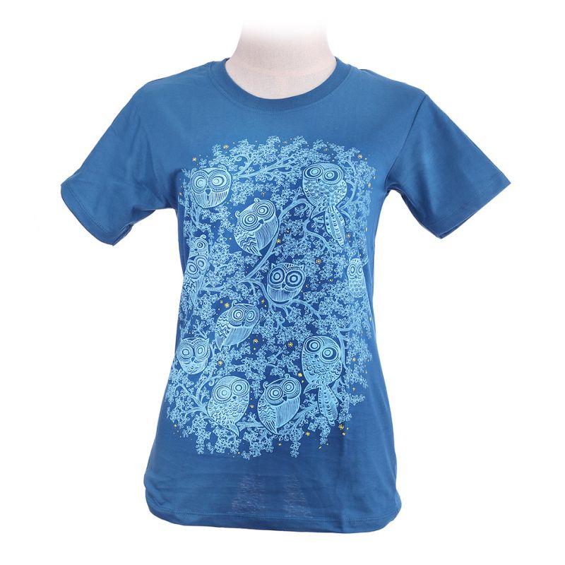 Dámské tričko Twelve Owls Turquoise