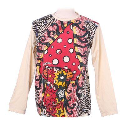 Tričko Amanita - dlouhý rukáv