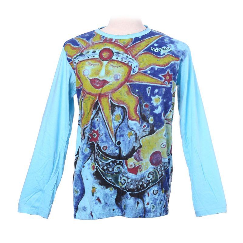 Tričko Mirror s dlouhým rukávem - Sun&Moon