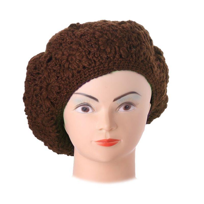 Háčkovaný baret Laras Brown